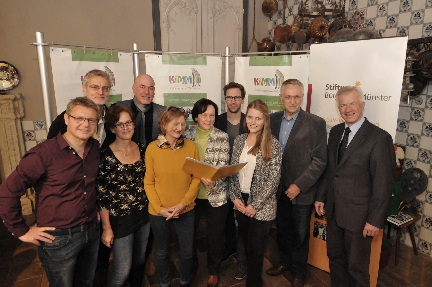 Unterstützung durch die Bürgerstiftung Münster